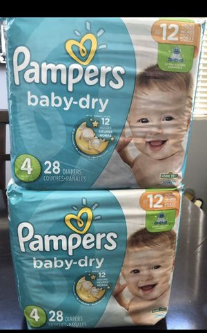Pampers diapers for Sale in San Jacinto, CA