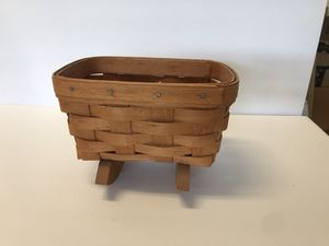 LONGABERGER Basket With Rockers for Sale in Jurupa Valley, CA