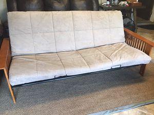 Futon & beige mattress for Sale in Hudson, FL
