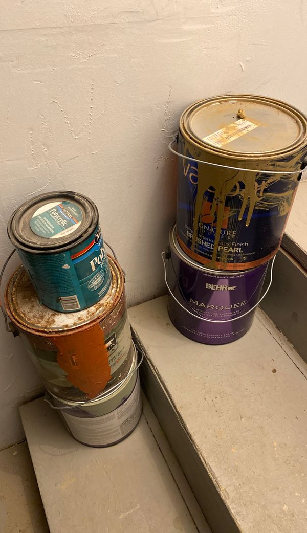 FREE Gallons of Paint - various colors