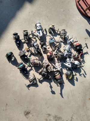 Fishing reels for parts ,lots for Sale in Atwater, CA