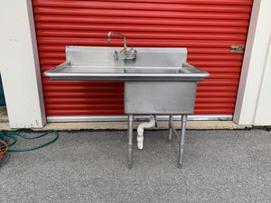 Sink With Drainboard 52x31 for Sale in St. Charles, IL
