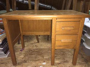 Antique oak child's desk for Sale in Cumming, GA