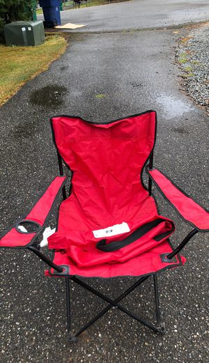 folding camping chair for Sale in Everett, WA