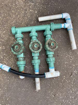 Orbit 3 zone sprinkler valve for Sale in Wesley Chapel, FL