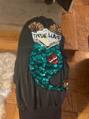 Sheer black mermaid mini dress size x large for Sale in MD, US