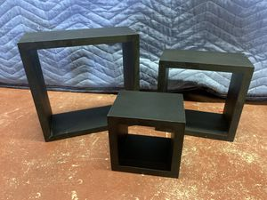 Square Wall Hanging Wall Decor Shelf Display Shadow Boxes for Sale in Lauderdale Lakes, FL