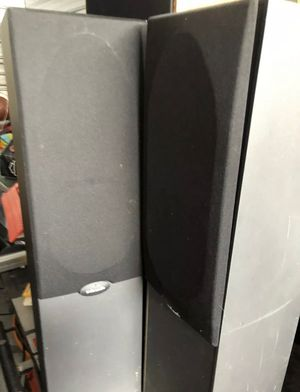 POLK AUDIO RT 400 STEREO SPEAKERS Tested Working. for Sale in Elgin, IL