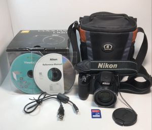 Nikon Coolpix L820 16MP CMOS Digital Camera 30x Zoom Full HD 1080p free shipping free bag, free 32GB SDcard and free 4 AA batteries for Sale in Baldwin Park, CA