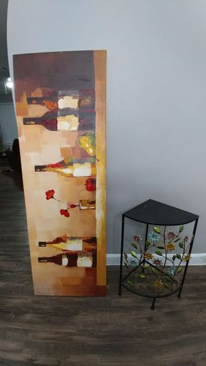 Wine and corner shelf. for Sale in Austin, TX