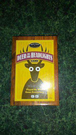 Deer in the headlights game for Sale in Ishpeming, MI