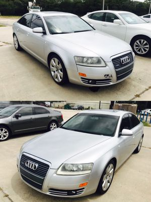 2005 Audi A6 LÖW DOWN CLEAN TITLE 99k miles only!!!!! for Sale in Bellaire, TX