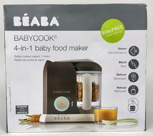New Beaba Babycook 4 in 1 Steamer Cooker and Blender 4.5 Cups Dishwasher Safe (Tarpon Springs) for Sale in Palm Harbor, FL