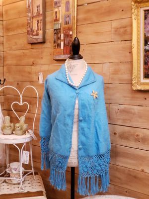 Alpaca wool Cape shawl for Sale in Auburn, WA