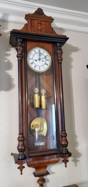 Gustav Becker Antique Vienna Regulator Clock for Sale in Anaheim, CA