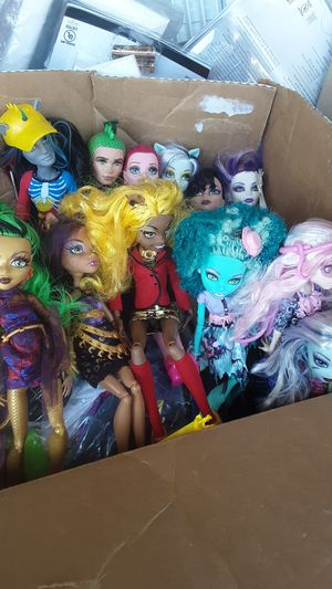 Monster high dolls for Sale in Westminster, CO