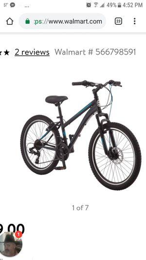 Brand new 24 inch schwinn sidewinder bike for Sale in Houston, TX