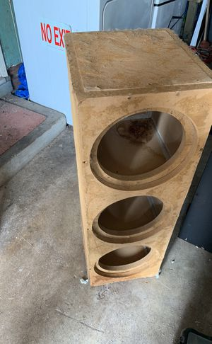 """Sub box for 3 10"""" subwoofers for Sale in San Francisco, CA"""