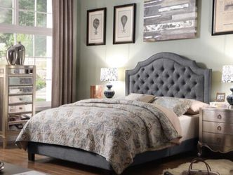 Brand New King Size Upholstered Bed for Sale in Sacramento,  CA
