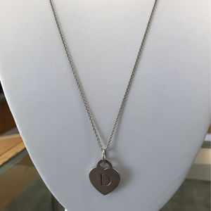 Tiffany & Co Combo Chain And Pendant for Sale in Tampa, FL