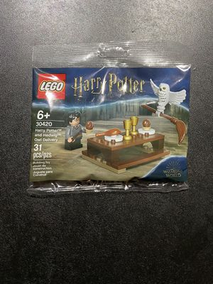 Lego 30420 Harry Potter and Hedwig Owl Delivery Polybag sealed for Sale in Boca Raton, FL