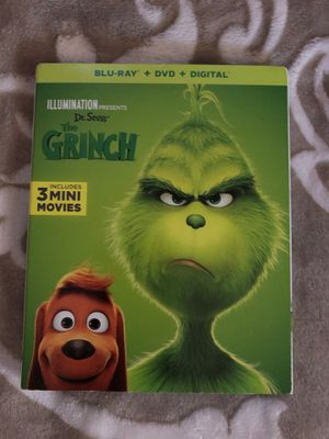 The Grinch Blu-ray $ DVD for Sale in West Covina, CA