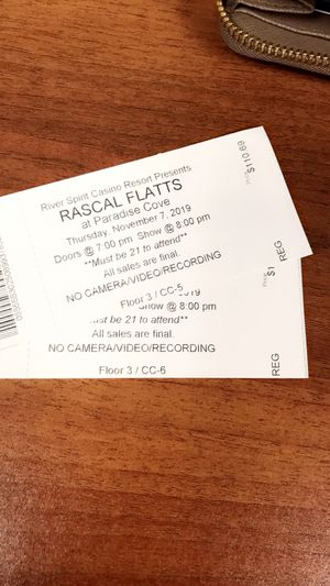 Rascal flatts tickets for Sale in Tulsa, OK