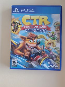 CTR CRASH TEAM RACING Nitro Fueled PS4 Game , for Sale in Hialeah,  FL