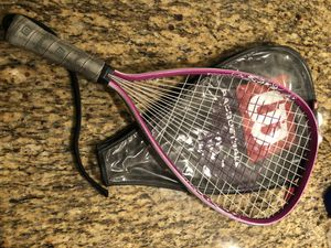 Female Girl Pink Racquetball Racquet for Sale in Los Angeles, CA