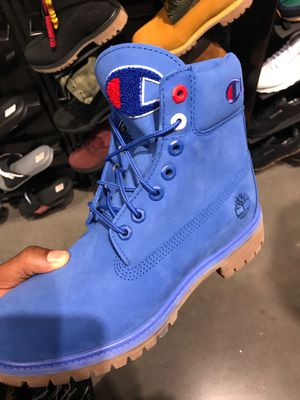 Men's champion x timberland for Sale in Richmond, KY