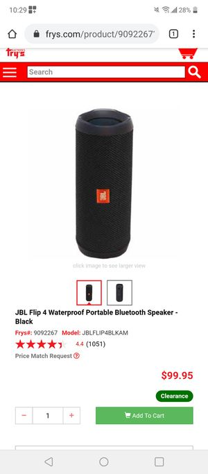JBL Flip4 Bluetooth speaker for Sale in Salinas, CA