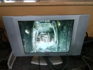 Polaroid 15 inch LCD TV and computer display with PC and power cords for Sale in Washington, DC