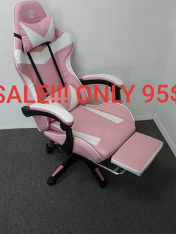 Gaming Chair Sale Pink ONLY 95$! (Was $190) for Sale in Rosemead,  CA