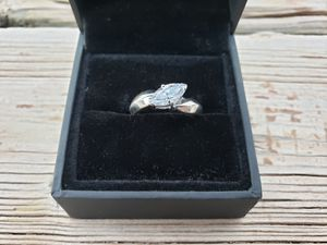 Sterling silver 925 CZ new ring size 7 for Sale in Scottsdale, AZ