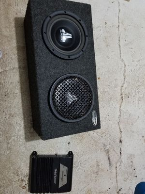 Car Speakers and Amp for Sale in Aberdeen, WA