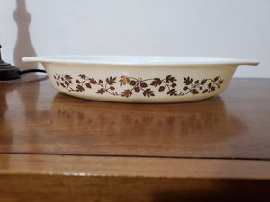 Acorn divided dish pyrex for Sale in Lathrop, CA