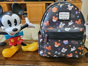 Loungefly Mickey Treats Halloween Mini Backpack for Sale in Kissimmee, FL