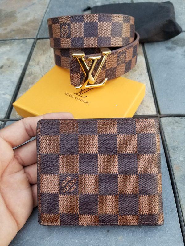 Leather Lv Belt