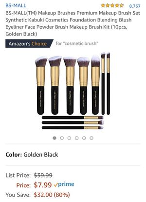 New Makeup Brush 10 Set for Sale in Lynnwood, WA