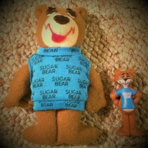 Vintage General Cereal Sugar Bear Figure And Doll 1988 Advertising Toy for Sale in Midlothian, IL