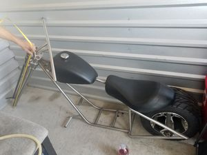 Custom built Harley motorcycle frame and other parts. for Sale in Portland, OR