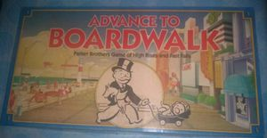 Vintgage 1985 Parker Brothers Advance to Boardwalk Monopoly Board Game. for Sale in Washington, PA