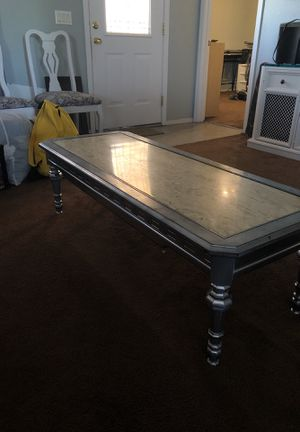 Coffee table ( marble top) for Sale in Apache Junction, AZ