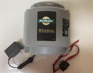 Wireless pet fence shock beep colar petsafe retail $300 for Sale in Ogden, UT