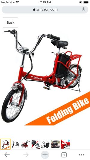 Electric folding bike for Sale in Haines City, FL