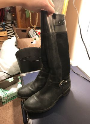 11 Timberland black leather and suede boots for Sale in San Diego, CA