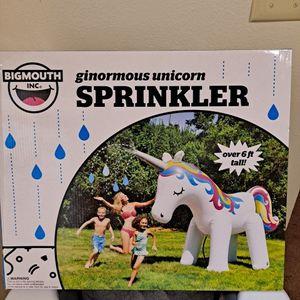 6ft Unicorn Sprinkler for Sale in Fresno, CA