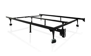 Structures Universal Bed Frame with Rollers Twin to Cal King for Sale in Los Alamitos, CA