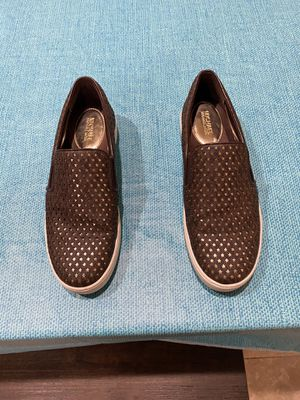 Michael Kors Women Slip On Sneakers( size 7.5) for Sale in Spring Valley, CA
