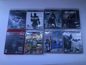 8 PS3 Games for Sale in Las Vegas, NV
